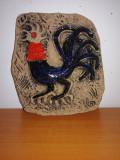 Tablou/placa aplica perete ceramica Keramik Olle Gränna/Granna Suedia