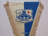 Fanion (vechi) fotbal - NK OSIJEK (fosta Iugoslavie-actual Croatia)