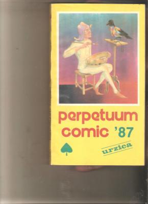 Almanah Perpetuum Comic 1987 foto