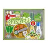 Cumpara ieftin Set de joaca din lemn Salate delicioase Melissa and Doug