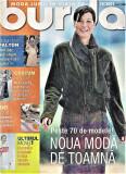 Burda revista de moda insert in limba romana 51 tipare 10/2001  (croitorie)