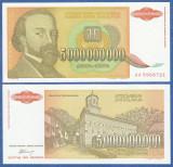 = IUGOSLAVIA – 5 000 000 000 DINARA – 1993 – UNC   =