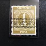 Germania 1948, Zona Anglo-Americana, Mi AIX/I **, Nestampilat