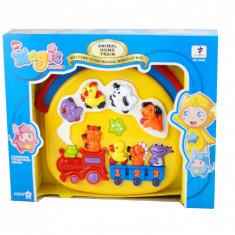 Jucarie muzicala pentru copii, pianina Kiki Magic, cu sunete si lumini