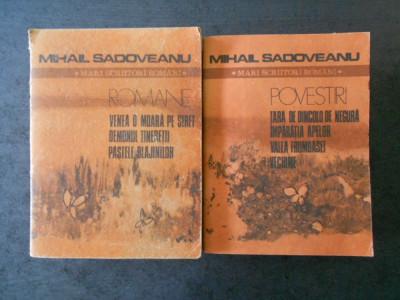 MIHAIL SADOVEANU - POVESTIRI 2 volume foto