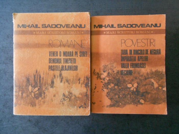 MIHAIL SADOVEANU - POVESTIRI 2 volume