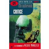 Critice   Titu Maiorescu, Cartea Romaneasca Educational