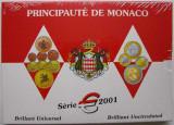 """MONACO 2001 – set monetarie """"1cent – 2 euro"""" BU / folder sigilat, Europa"""