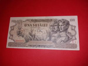 BANCNOTE ROMANESTI 100LEI IUNIE 1947 XFPLUS