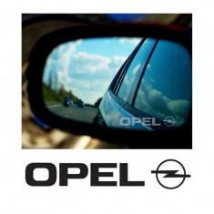 Stickere oglinda Etched Glass - Opel