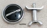 Emblema / Logo / Sigla MERCEDES BENZ  AMG- Pentru Capota