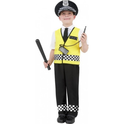 Costumatie- set Politist copii 7-9 ani, universal foto