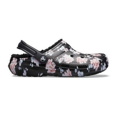 Saboți Adulti Unisex casual Crocs Classic Printed Lined Clog foto