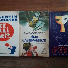 Zana castravetilor  + alte 2 carti de  Valentin Silvestru /  R4P5S