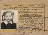 Carte de identitate CFR clasa I copil 1949 legitimatie de calatorie