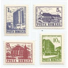 *România, LP 1257/1991, Hoteluri şi cabane (uzuale I), MNH