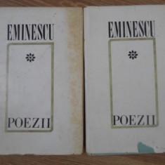 POEZII VOL.1-2 EDITIE CRITICA DE D. MURARASU - M. EMINESCU