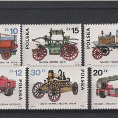 Masini de pompieri ,istorie,Polonia.