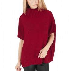 Poncho tricotat dama