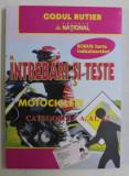 INTREBARI SI TESTE MOTOCICLETE , CATEGORIILE A , A1 , A2 , 2020