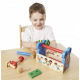 Trusa scule constructie din lemn pentru copii - Mickey Mouse, Melissa & Doug
