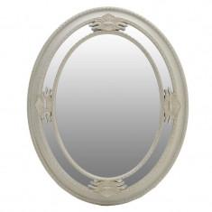 Oglinda Melbourne, melamina, crem/auriu, dimensiuni 80 x 65 x 6 cm