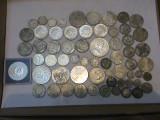 Colectie monede de argint 513 grame