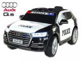 Masinuta electrica Audi Q5 Police cu roti cauciuc