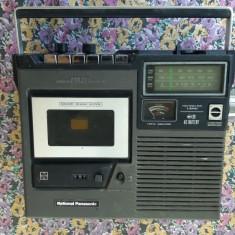 RADIOCASETOFON NATIONAL PANASONIC RF 5210JBS MADE IN JAPAN ,RARITATE !