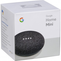 Boxa Inteligenta Google Home Mini, wireless, Carbune