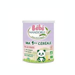 Cereale Bio pentru Bebelusi La Mandorle 400gr Cod: 3760030723443