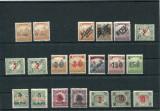 1919 , ROMANIA ,  Lot Oc. Romana in Timisoara , semnate BODOR  - nestampilate
