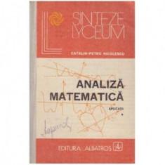 Analiza matematica - aplicatii