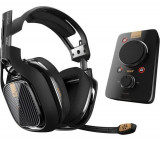 Casti Gaming ASTRO A40 TR, surround, 3.5 mm, negru + MixAmp Pro TR PS4 / PC
