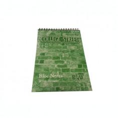 Bloc notes cu spire A5 , 80 file matematica