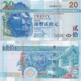 Hong Kong 20 Dollars 2010 UNC