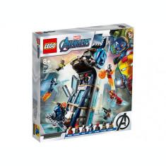 LEGO Marvel Super Heroes - Lupta din turn a Razbunatorilor 76166