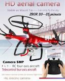 Drona mare 44 cm zbor 20-25 minute, Camera 5 mp,Wifi FPV nouă,rosu sau alba