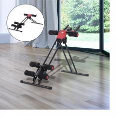 Aparat multifuncțional fitness, 5 nivele, Display LCD, Pliabil