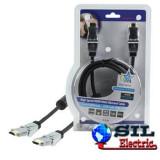 Cablu profesional HDMI 1.4 19pin Tata SWIV Tata 1.5M,HQ