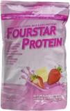 Proteina din Zer FourStar Protein Aroma Capsuni cu Ciocolata Alba 500 grame Scitec Nutrition Cod: SCNFRSTPR