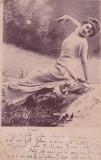 CARTE POSTALA TANARA            Circulata18 MAR.1902, Circulata, Printata