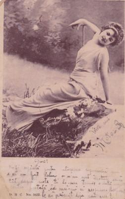 CARTE POSTALA TANARA            Circulata18 MAR.1902 foto