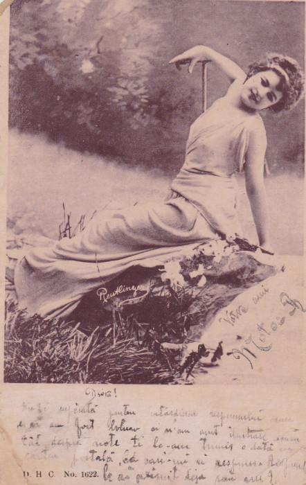CARTE POSTALA TANARA            Circulata18 MAR.1902