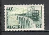 Algeria.1957 Electrificarea liniei ferate Bone-Tebessa  SX.112