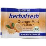 Pastile Respiratie Proaspata cu Menta si Portocale Herbafresh Bio 17 grame Hoyer Cod: 4002029067114