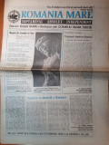 Ziarul romania mare 30 octombrie 1992