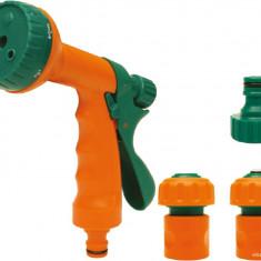 Set pistol pentru stropit multijet cu accesorii FLO