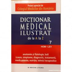 Dictionar medical ilustrat de la A la Z. Volumul 7 HOM-LEV
