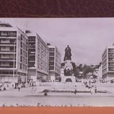 R.P.R. - IASI - VEDERE DIN PIATA UNIRII - CIRCULATA, TIMBRATA., Fotografie